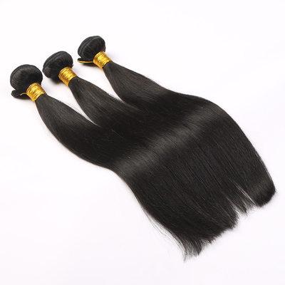5A Gerade Menschliches Haar Geflecht aus Menschenhaar (Einzelstück verkauft)