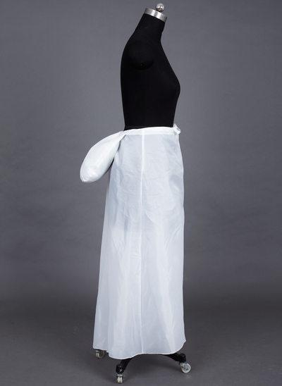 Women Taffeta Ankle-length 1 Tiers Bustle