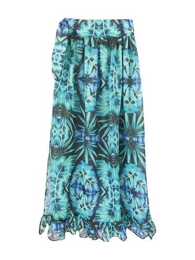 Boheems Bloemen Strand jurk