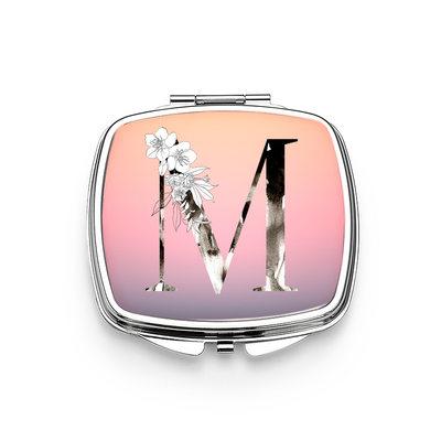 Regalos De La Novia - Personalizado Estilo Clásico Brillante Especial Acero Inoxidable Espejo compacto