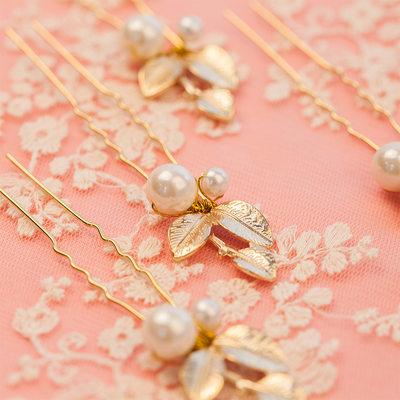 Brudepike Gaver - Klassisk Stil Mote Legering Imitert Perle Smykker (Sett med 6)