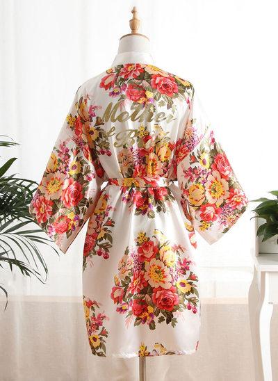 la mariée Soie Robes florales