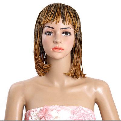 Suoraan Synteettiset hiukset punokset (Myydään yhtenä kappaleena) 130g