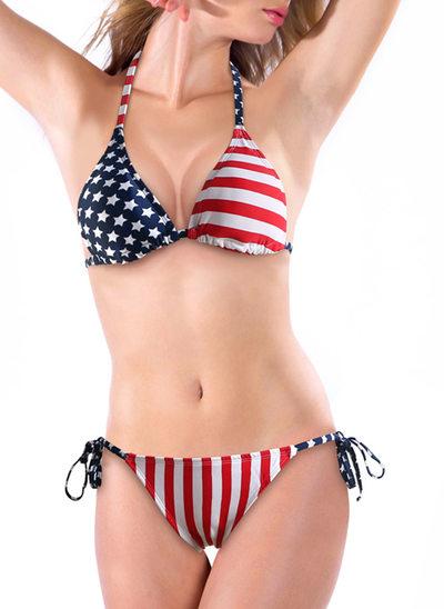 Sexy Bandiera Bikini