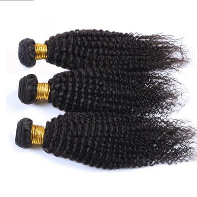 7A Kinky Curly Cabello humano Postizo de cabello humano (Vendido en una sola pieza)