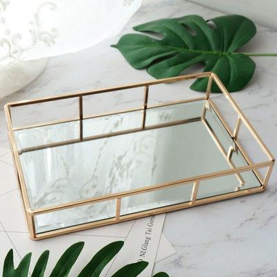 Presentes Da Noiva - Elegante Vidro Liga Caixa de jóias