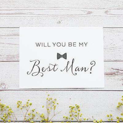 Mládenci Dárky - Klasický Card Paper Svatební denní karta