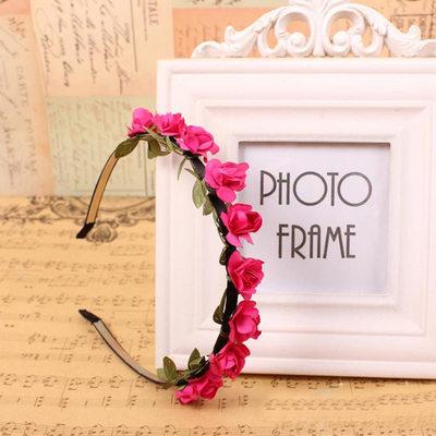 Papier mit Blume Stirnbänder
