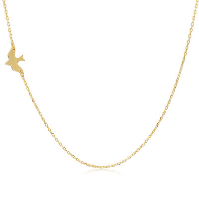 18k Gold Plated 18k Gold Plated Silver Animal Choker Necklace
