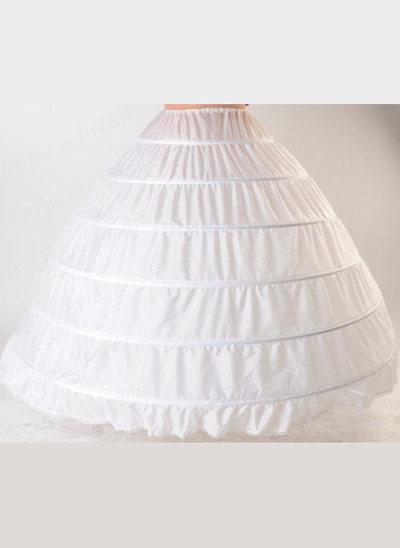 Femmes Tissu 1 couche Jupons