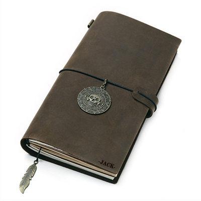 Presentes Padrinhos De Casamento - Personalizado Vintage papel Caderno