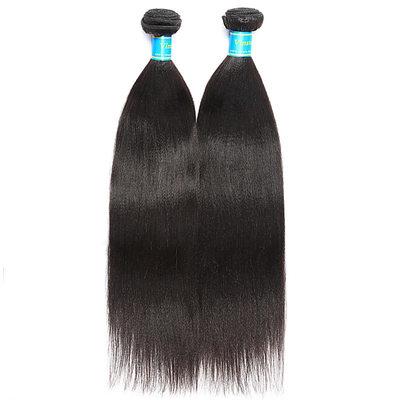 4A Ne remy Rovný Lidský vlas Lidské vlasy tkát (Prodáno v jediném kusu) 100g