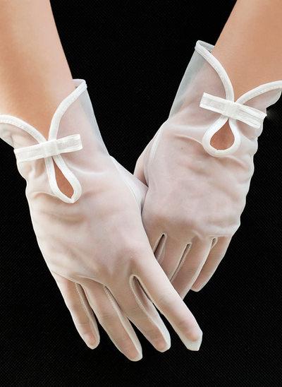 Тюль Наручные длина Свадебные перчатки