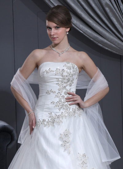Tulle mariage Châle