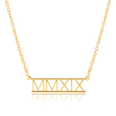 Personalized 18k Gold Plated Name Necklace