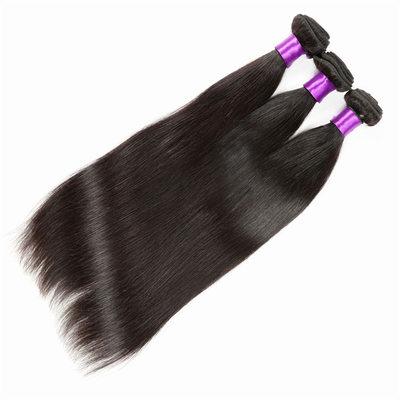 4A Nicht remy Gerade Menschliches Haar Geflecht aus Menschenhaar (Einzelstück verkauft)