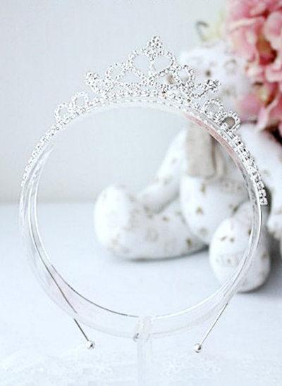 Rhinestones Flower Headband