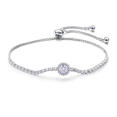 Antioxidante Declaración Bracelets De Mariée Bracelets de demoiselle .d'honneur con Cubic zirconia -