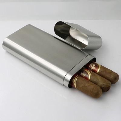 Cadeaux Pour Garçons D'honneur - Moderne Acier Inoxydable Étui à cigares