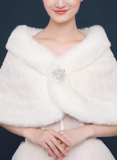 Faux Fur Speciale gelegenheden Wrap