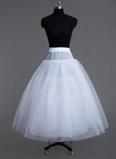 Women Tulle Netting Floor-length 6 Tiers Petticoats