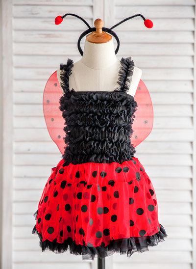 A-Line/Princess Knee-length Dancewear - Tulle Straps