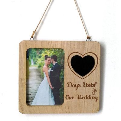 Sposo Regali - Colore Solido Legno Cornice