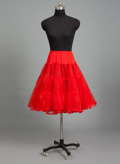 Women Nylon/Tulle Netting 4 Tiers Petticoats