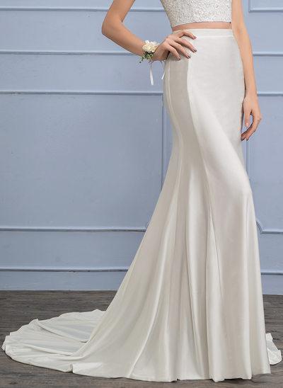 Sépare Traîne moyenne Jersey Robe de mariée