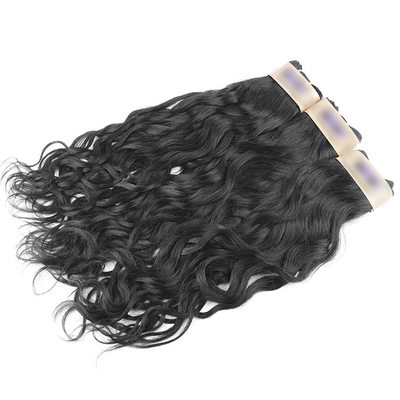 5A Virgin/remy Water Wave Human Hair Human Hair Weave (Sold in a single piece) 100g