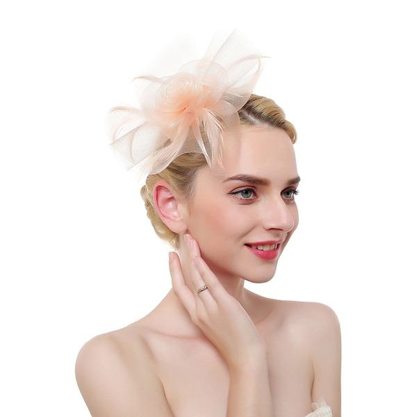 Damen Ins Auge Fallend/Anhänger/Romantisch Feder/Net Garn mit Feder Kopfschmuck