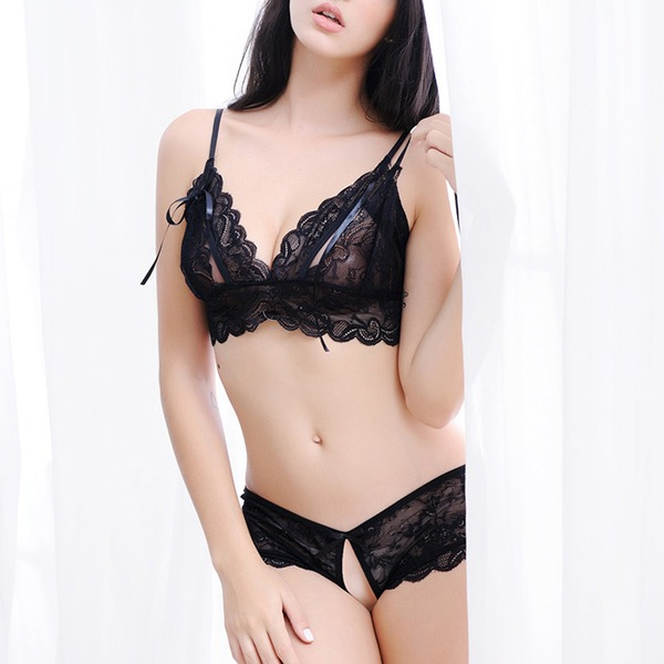 Renda lingerie Set