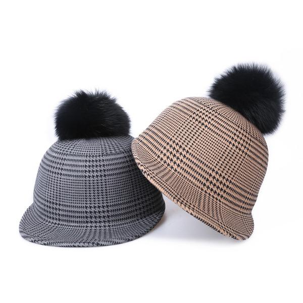 Señoras' Elegante/Exquisito/Estilo de la vendimia Madera Boina Sombrero