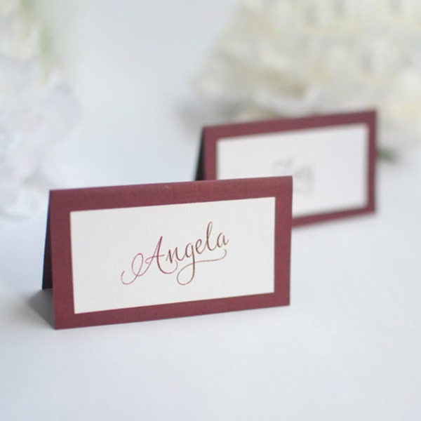 Place Cards Paper Personalized Simple Table Centerpieces(set Of 30)