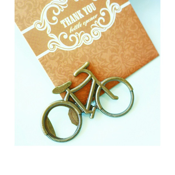 Rustic BOTTLE OPENER in Brown Thank You Giftbag Wedding Favor