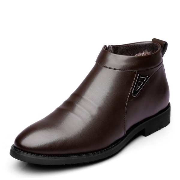 Мужская кожа Chukka вскользь Men's Boots