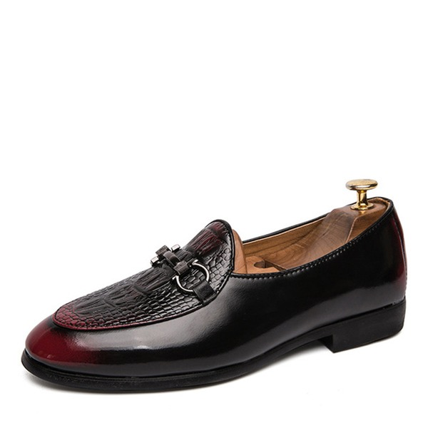 Men's Leatherette Horsebit Loafer Casual Dress Shoes Men's Loafers