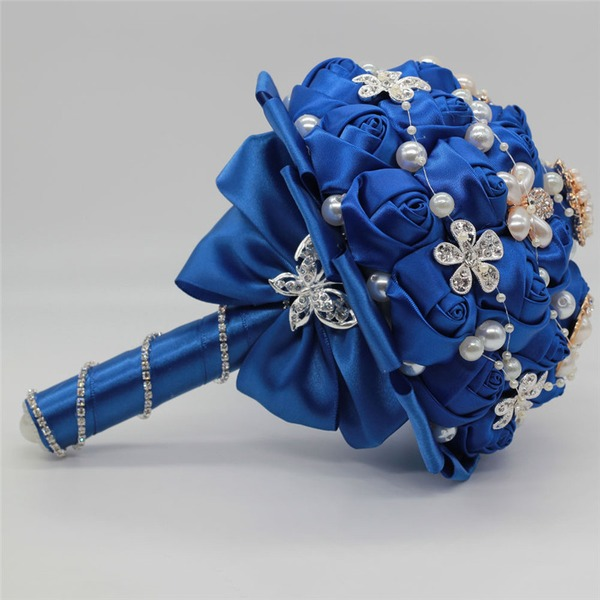 Rond Satiné Bouquets de mariée (vendu en une seule pièce) - Bouquets de mariée