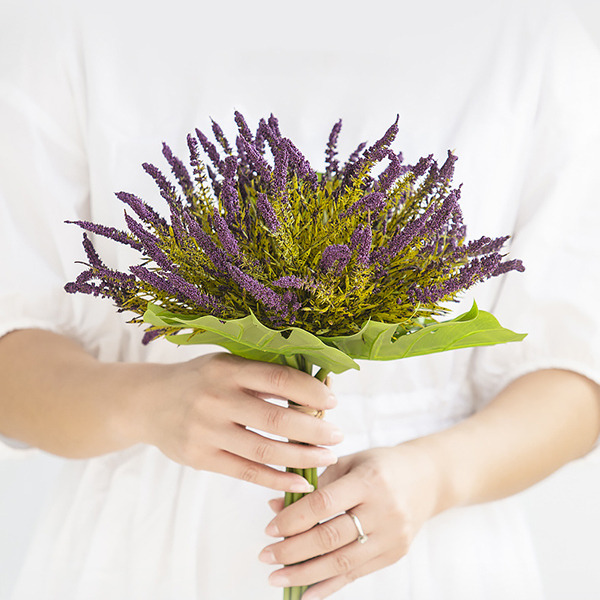 Flor de seda/Plástico Buquês da nama de honra/Decorações (Vendido em uma única peça) -