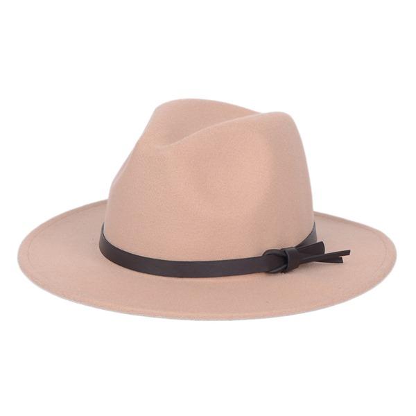 Könsneutrala Särskilda Filt Fedora Hat