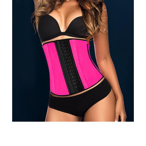 Kvinner Vrouwelijk/Sexy Spandex Kleur bodysuit Corrigerend Ondergoed