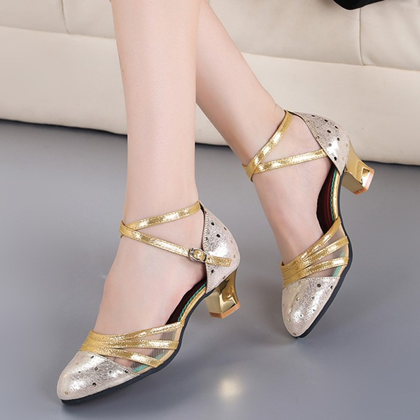 Women's Leatherette Ballroom Dance Shoes