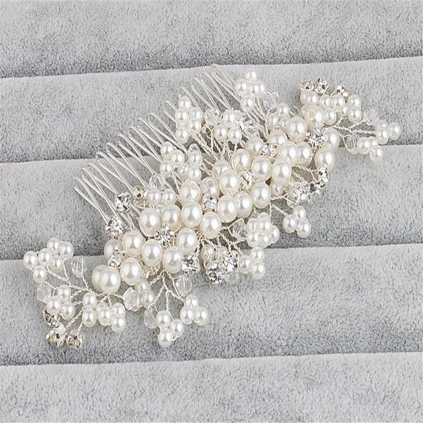 Abbigliamento donna Stile classico Cristallo/lega/Di faux perla Pettine & clip di capelli