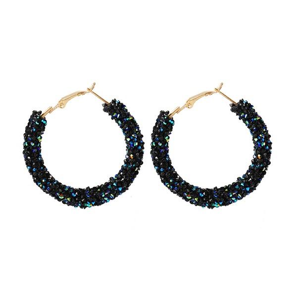 Style Classique Alliage Strass avec Strass Femmes Boucles d'oreille de mode (Vendu dans une seule pièce)