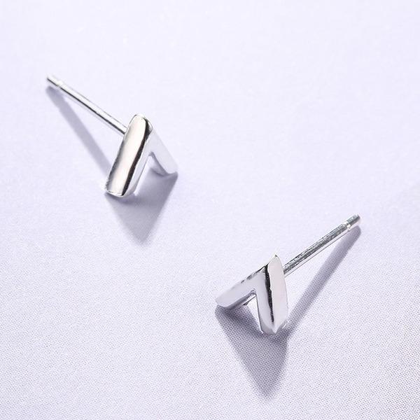 Magnifique argent Dames Boucles d'oreille de mode (Lot de 2)