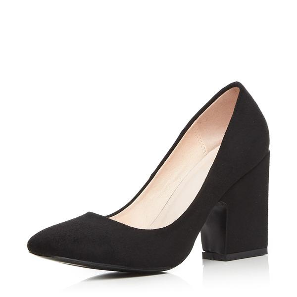 De mujer Ante Tacón ancho Salón Cerrados con Otros zapatos
