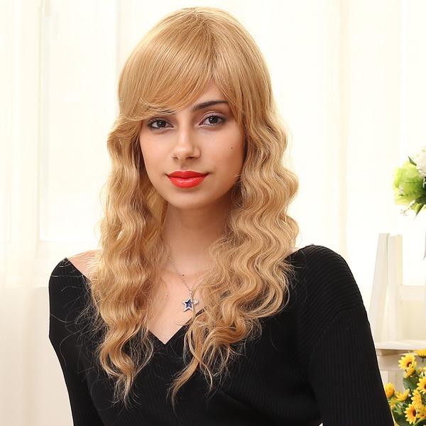 Body Wave Lang Human Hair Parykker