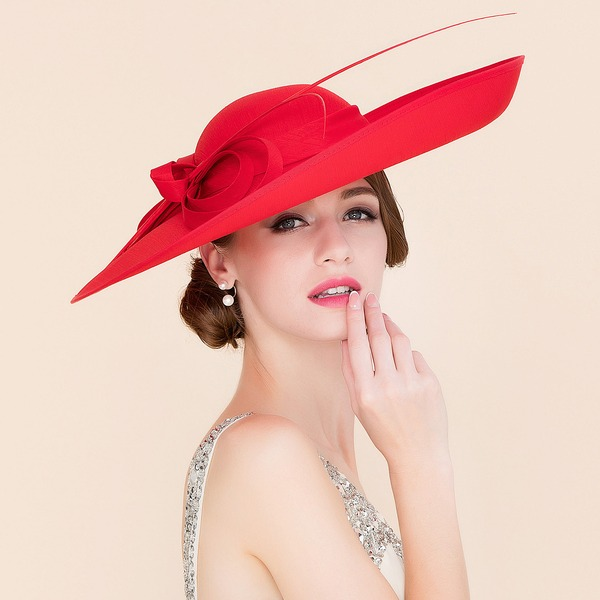 Ladies' Elegant Cambric Bowler/Cloche Hats/Kentucky Derby Hats