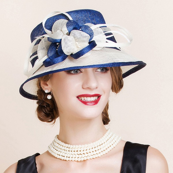 Ladies' Beautiful/Glamourous/Elegant/Eye-catching Cambric Bowler/Cloche Hats