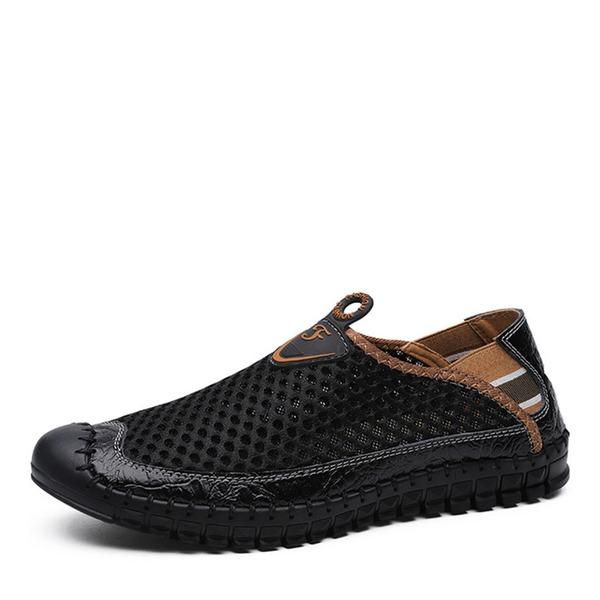 Hombres Mesh Zapatos del barco Casual Mocasines de caballero
